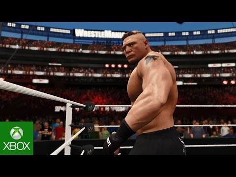 WWE 2K17 Wrestlemania Compilation Video