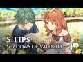 5 Tips for Fire Emblem Echoes, Shadows of Valentia - Part 1