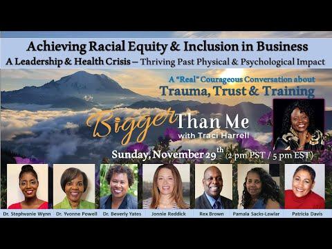 Bigger Than Me 11-29-20 Trauma, Trust & Training (2pm)