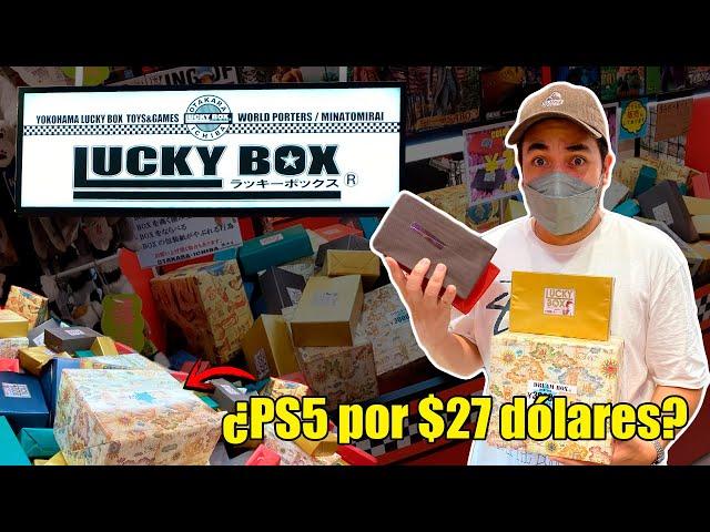 CAJAS de la SUERTE en JAPON , consolas, figuras, videojuegos y mas !