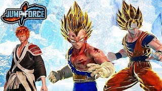 JUMP FORCE Beta - HOW TO TRANSFORM! Super Saiyan Transformation & Character Awakening Gameplay