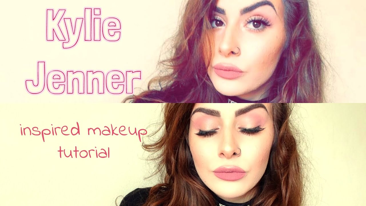 Pink Makeup Tutorial | Kylie Jenner Inspired ♡ - YouTube