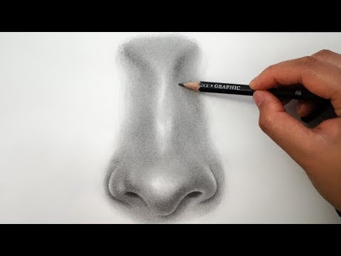 How to Draw a Nose - EASY