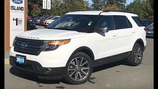 2015 Ford Explorer XLT W/ Nav, Leather, AWD Review| Island Ford