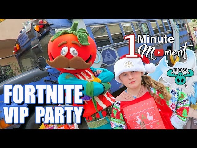 Lindalees 1-Minute Moment - FORTNITE Toy Launch Event - Battle Royale - Moose Toys