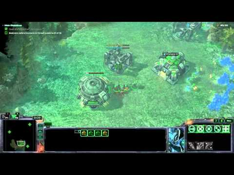 Starcraft 2: Lifeforce Campaign Mission 1: Genesis