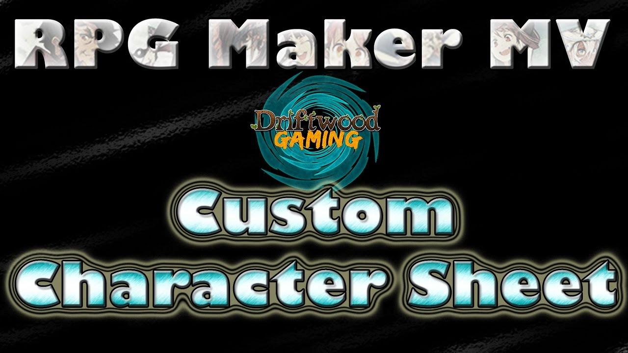 using piskel custom sprites rpg maker mv tutorial youtube