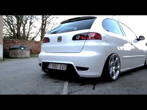 air ride seat ibiza 6l cupra look youtube. Black Bedroom Furniture Sets. Home Design Ideas
