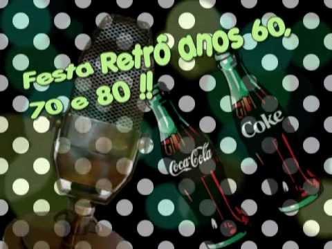 Convite Digital Festa Retrô Youtube