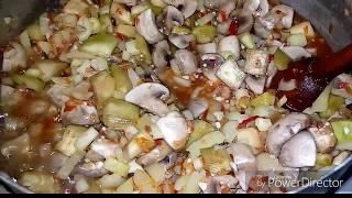 ПОТРЯСАЮЩЕ Вкусный Салат НА ЗИМУ из Грибов,Баклажанов в Томатном Соусе.РЕКОМЕНДУЮ.