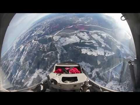 L-39 Fighter Jet Rides Calgary/Canada 360°