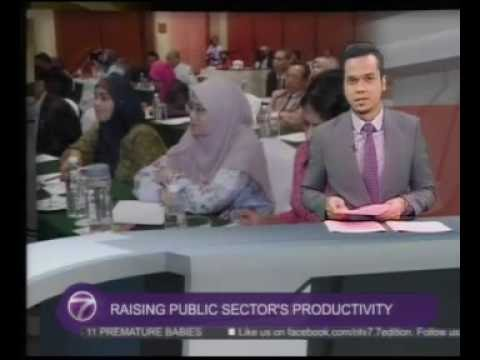 NTV7 Malaysia coverage of APO International Conference on Public Sector Productivity