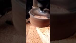 Cara memotong bulat pada kayu