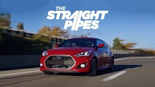 2016 Hyundai Veloster TURBO DCT Review Yuri and Jakub Go for a Drive