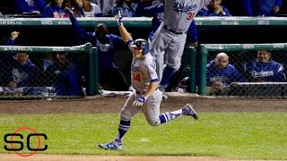 Enrique Hernandez has historic night as Dodgers head to World Series l SportsCenter l ESPN