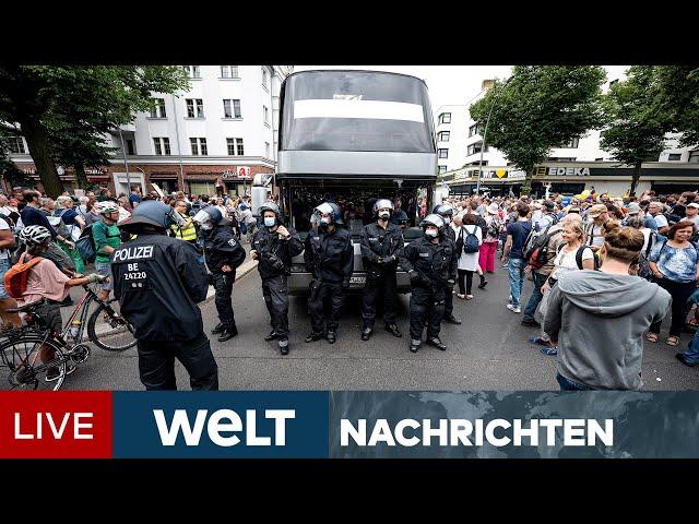 QUERDENKER IGNORIEREN GERICHTE: Corona-Leugner provozieren mit Demos in Berlin | WELT Newsstream
