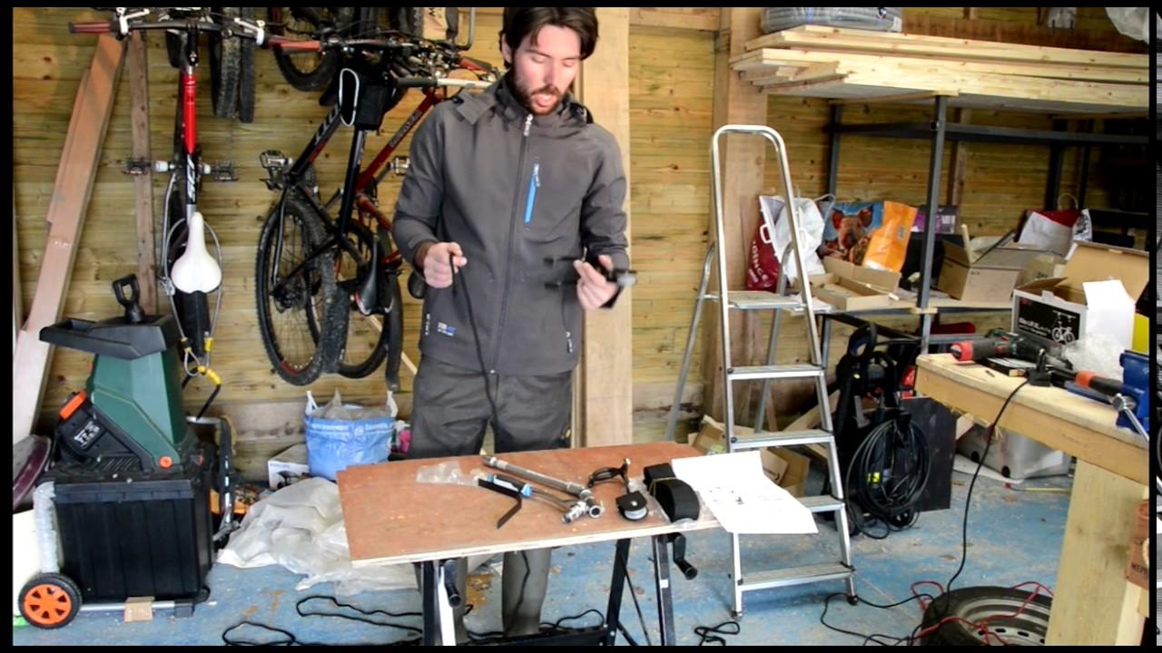 test du range velo au plafond charge lourde pour vae