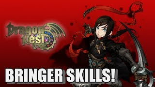 Dragon Nest - All Bringer skills!