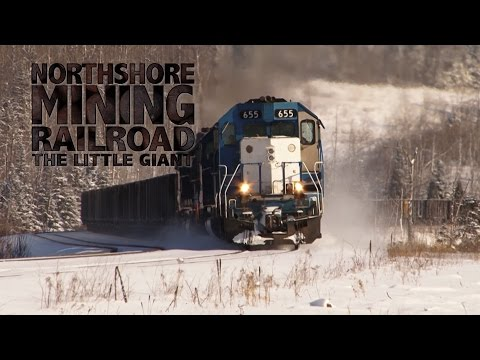 "TRAILER: RailTrek Media ""Northshore Mining Railroad: The Little Giant"""