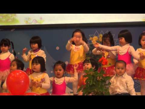 Múa hát: Em Yêu Cây Xanh - Lớp mẫu giáo bé - Mầm non Ban Mai