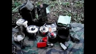 COMPACT COOK KIT - Multi Purpose - Wild Camp/Bushcraft/Survival/Prep