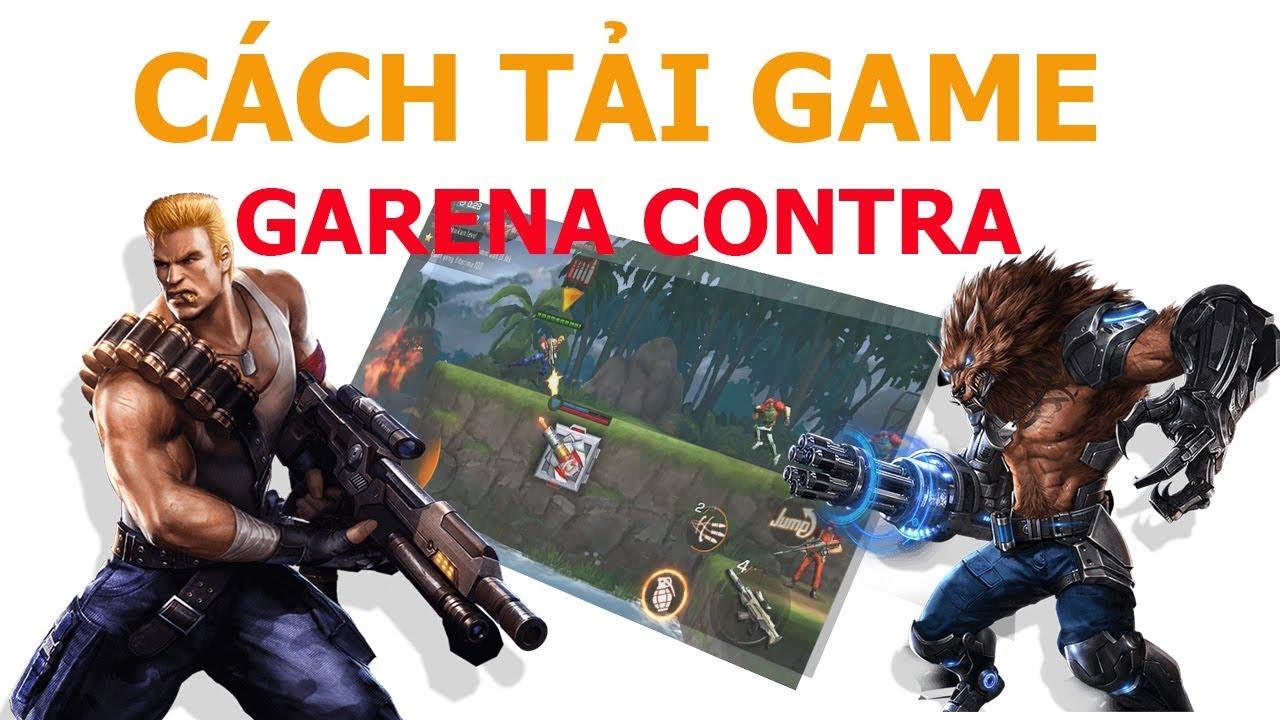 【Garena Contra Mobile】CÁCH TẢI GAME CONTRA GARENA  ĐỂ CHƠI TRÊN IPHONE