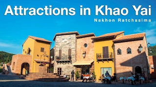 Attractions in Khao Yai, Thailand