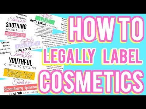 How to Legally Label Cosmetics Ι TaraLee