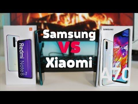 ДОРОГО НЕ ЗНАЧИТ ЛУЧШИЙ | Galaxy A70 ПРОТИВ Redmi Note 8 PRO