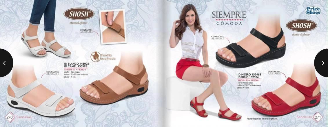 Catálogo Price Shoes Sandalias 2016 2016,09,02