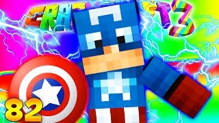 Minecraft CRAZY CRAFT 3.0 - Captain America Super Hero Mod  #82
