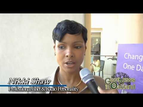 Nikki Shaw host EOYDC Fundraiser and enjoys being a role model