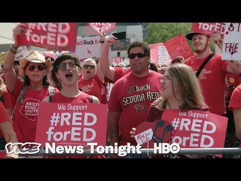 Everything You Need To Know About The Arizona Teacher Walkout (HBO)