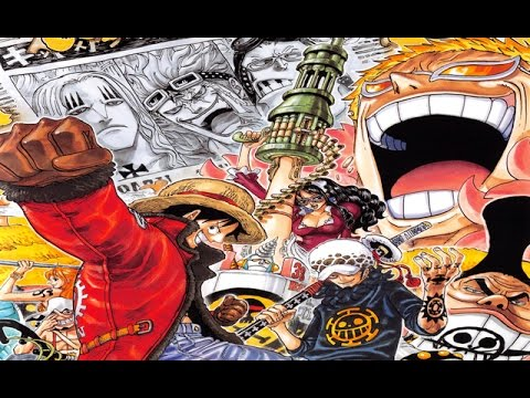 Top 50 strongest One Piece characters 2015 (Dressrosa Arc)