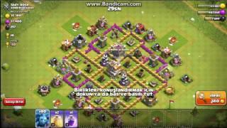 clash of clans 80 dalkavuk saldırısı #3