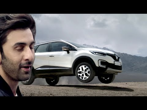 Ranbir Kapoor in new Renault CAPTUR TVC off roading video (new ad!)