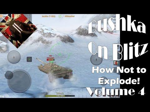 World Of Tanks Blitz How not to Explode...