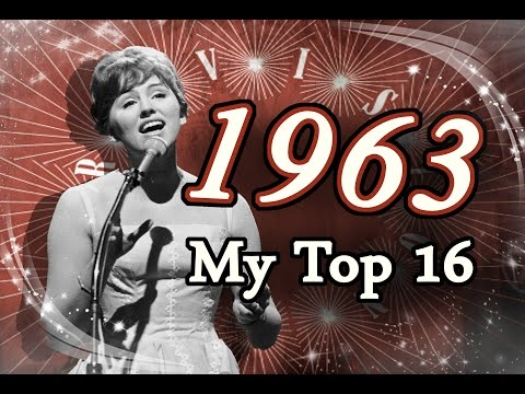 Eurovision Song Contest 1963  My Top 16 HD w Subbed Commentary