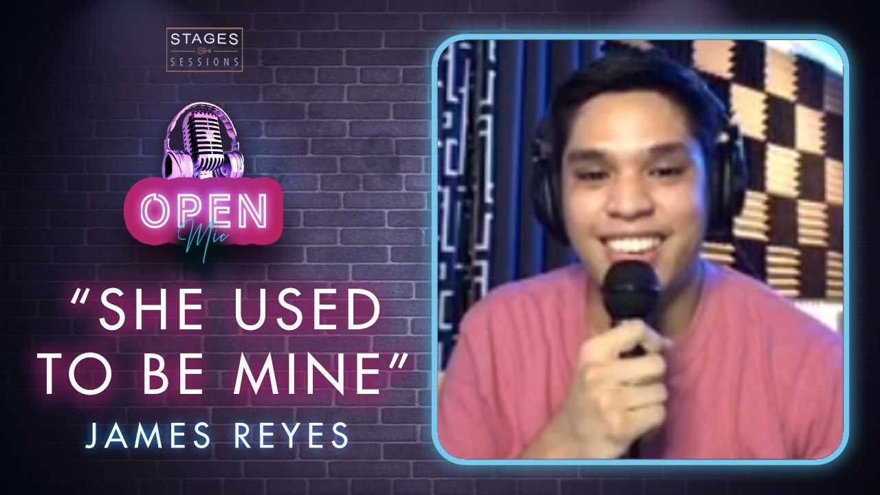 """James Reyes - """"She Used To Be Mine"""" (a Sarah Bareilles cover) Live at the Stages Sessions Open Mic"""