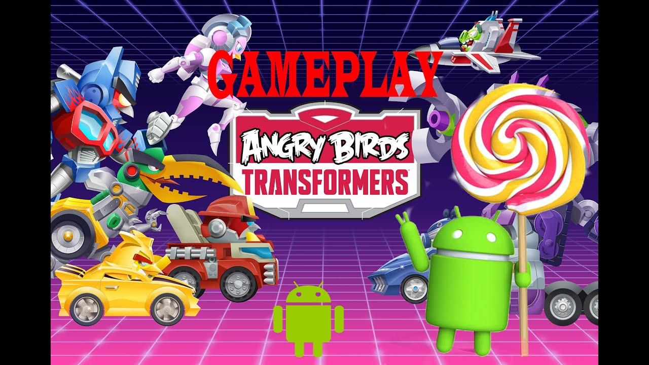 Angry Birds Transformers Gameplay on Bluestacks (Kitkat) - YouTube