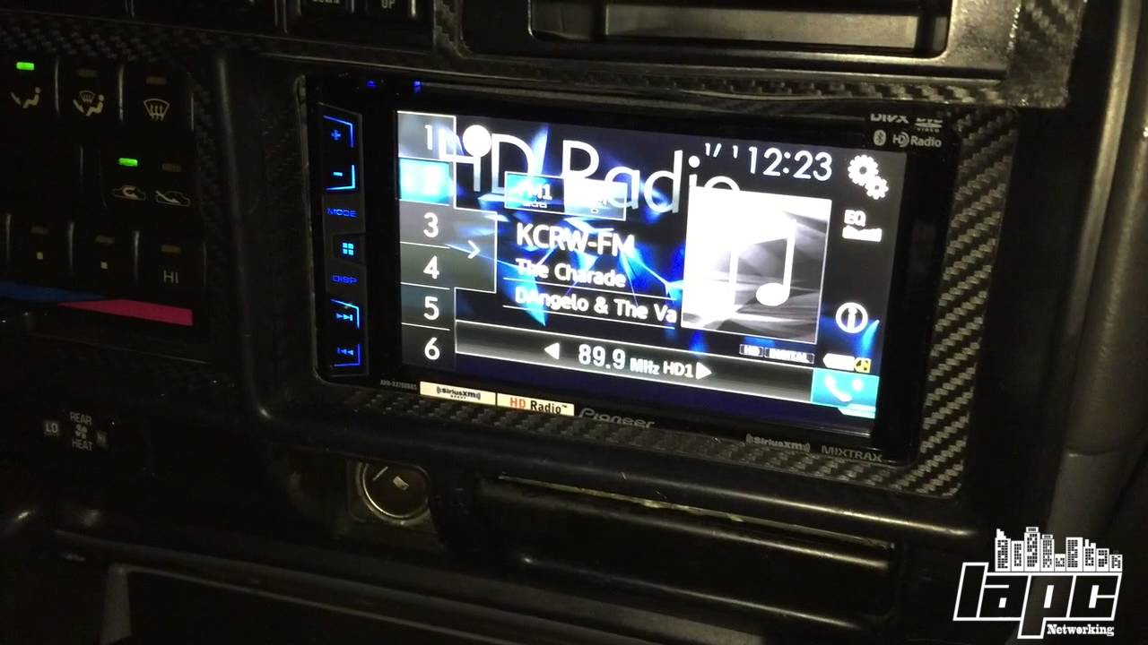 How to bypass any Radio NAVI and DVD