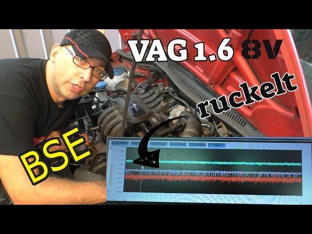 VAG 1.6 Motor ruckelt im Leerlauf - BSE - und keine Lösung - Seat Leon 1P