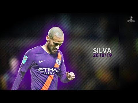 David Silva 2018/19 | The Magician | Crazy Passes, Skills & Goal | HD