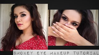 SMOKEY EYE MAKEUP TUTORIAL| PARTY READY|