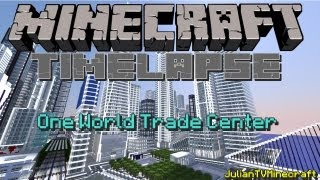 Minecraft Timelapse|One World Trade Center Under Construction
