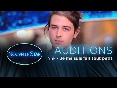 Ynk  : Je me suis fais tout petit - Auditions - Nouvelle Star 2017