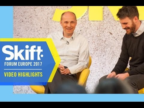 CMO of TUI Group at Skift Forum Europe