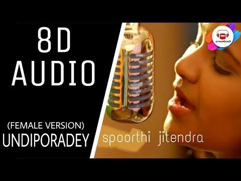 Undiporaadhey 8DCover Song By Spoorthi Jithender ||undiporadey female cover song ||HushaaruSongs