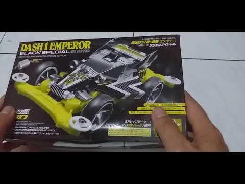 Unboxing Dash 1 Emperor Black Special
