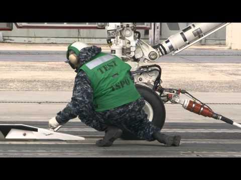 EMALS First Test Launch